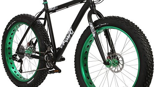 Framed Minnesota 2.0 Fat Bike Black/Green | Fat Tire Bike Shop